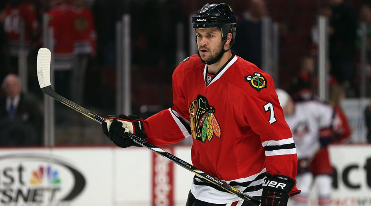 chicago blackhawks brent seabrook contract extension