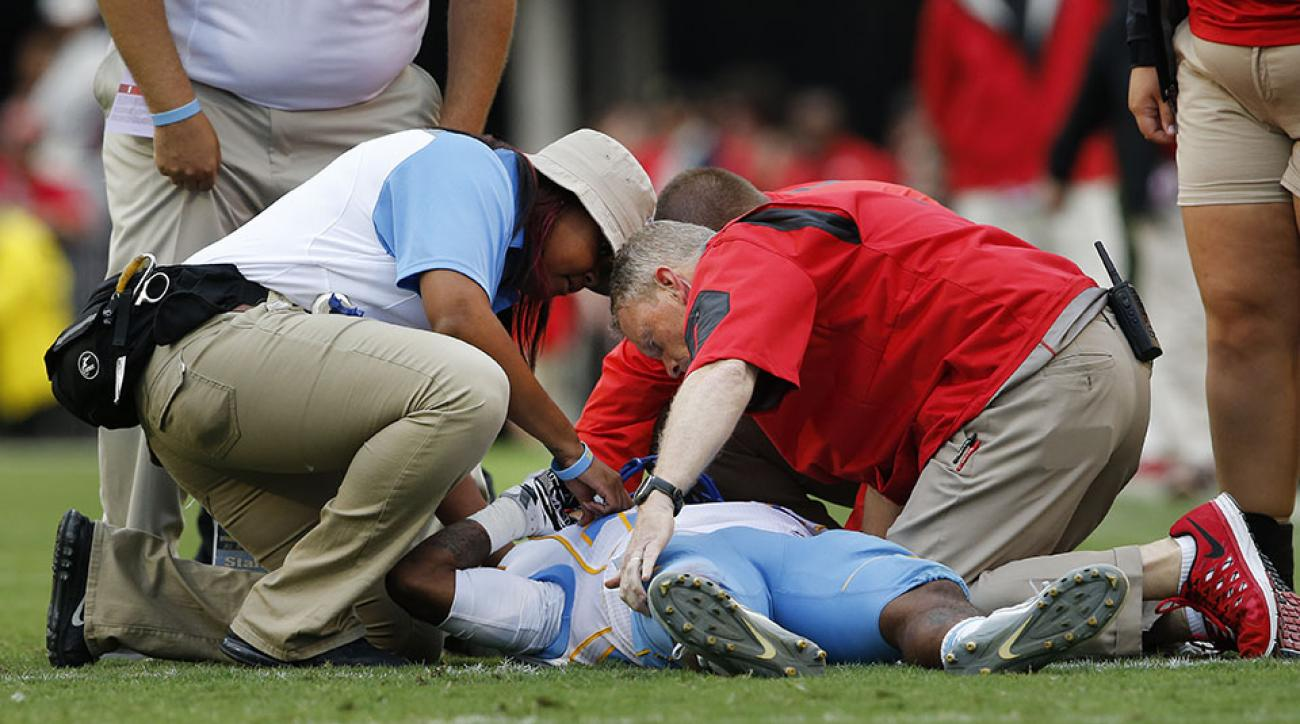 devon gales injury spine southern hospital