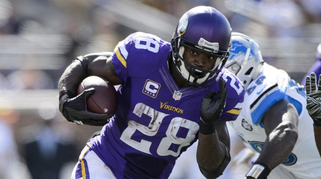 adrian peterson touchdown minnesota vikings