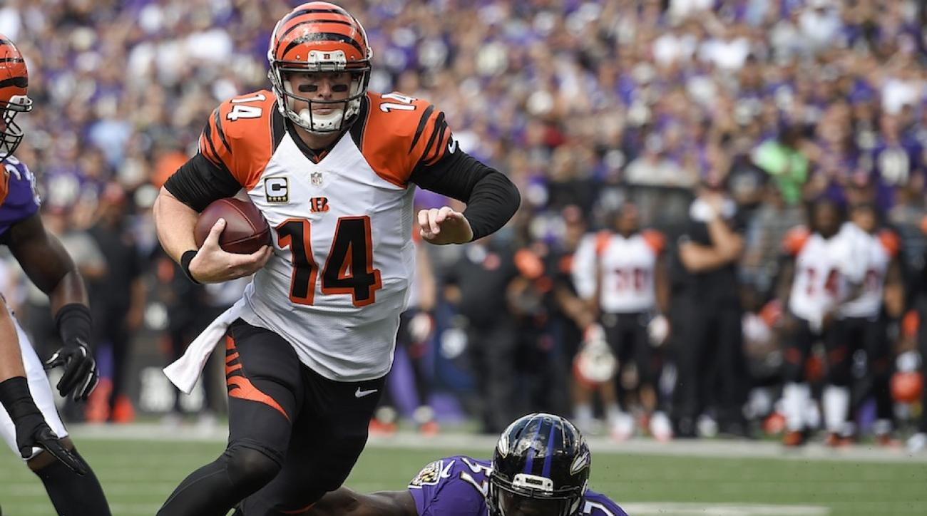 bengals ravens andy dalton touchdown video