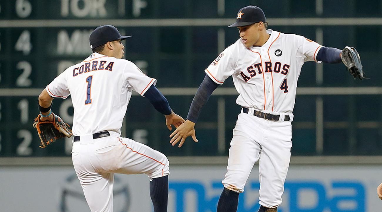 Houston Astros beat Texas Rangers