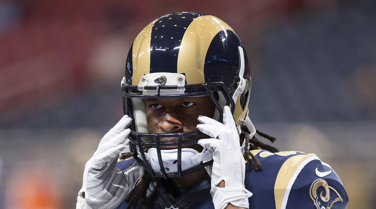 nfl week 3 actives inactives todd gurley marshawn lynch