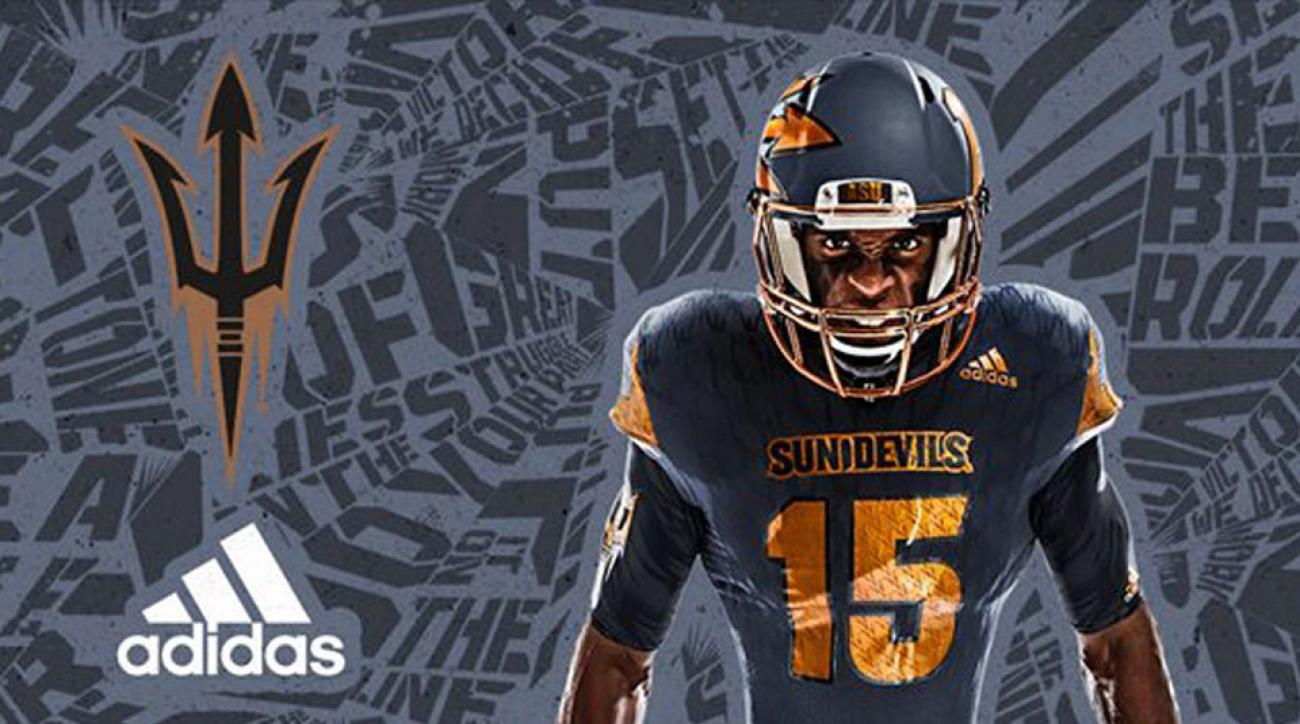 arizona state new uniforms adidas