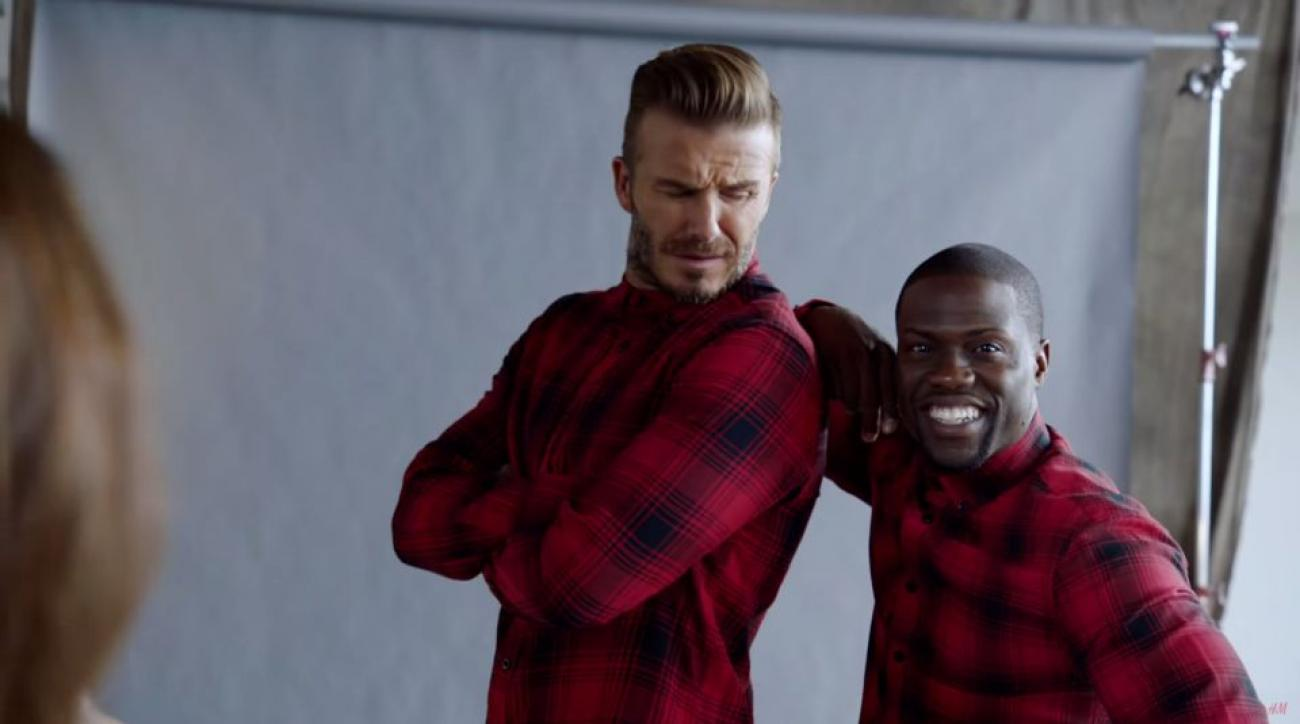 David Beckham, Kevin Hart star in H&M ad