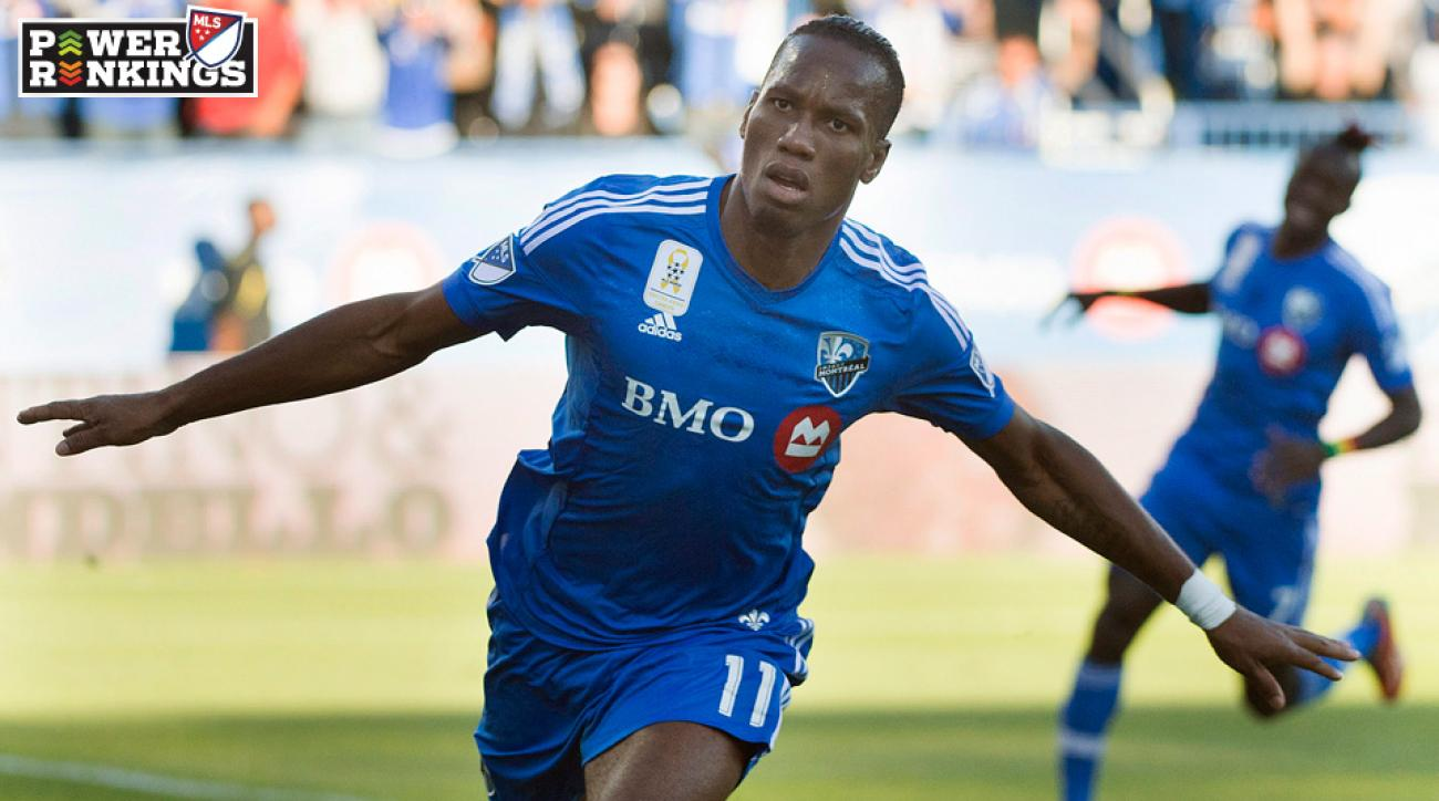 Didier Drogba scored two more goals for the Montreal Impact