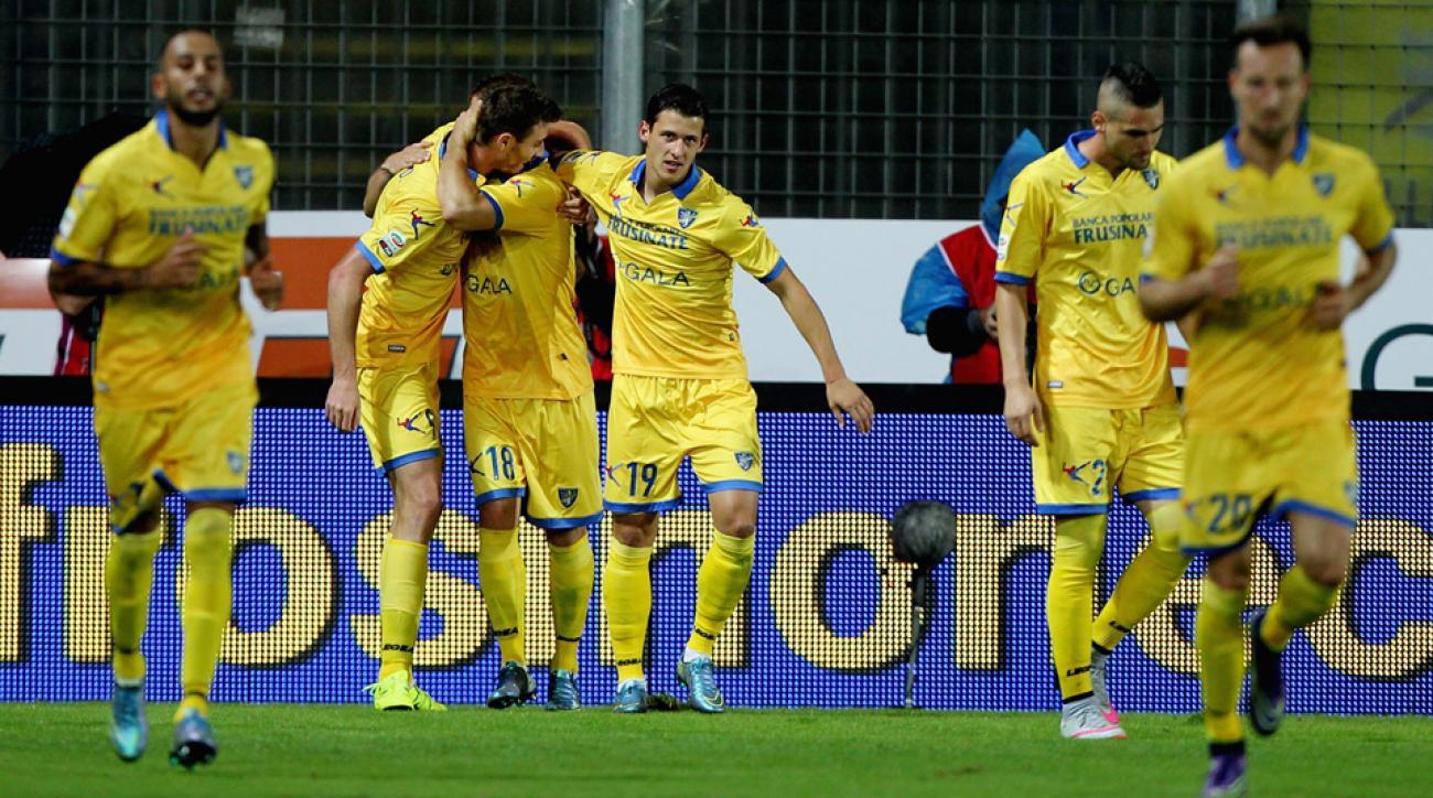 Frosinone beats Empoli in Serie A