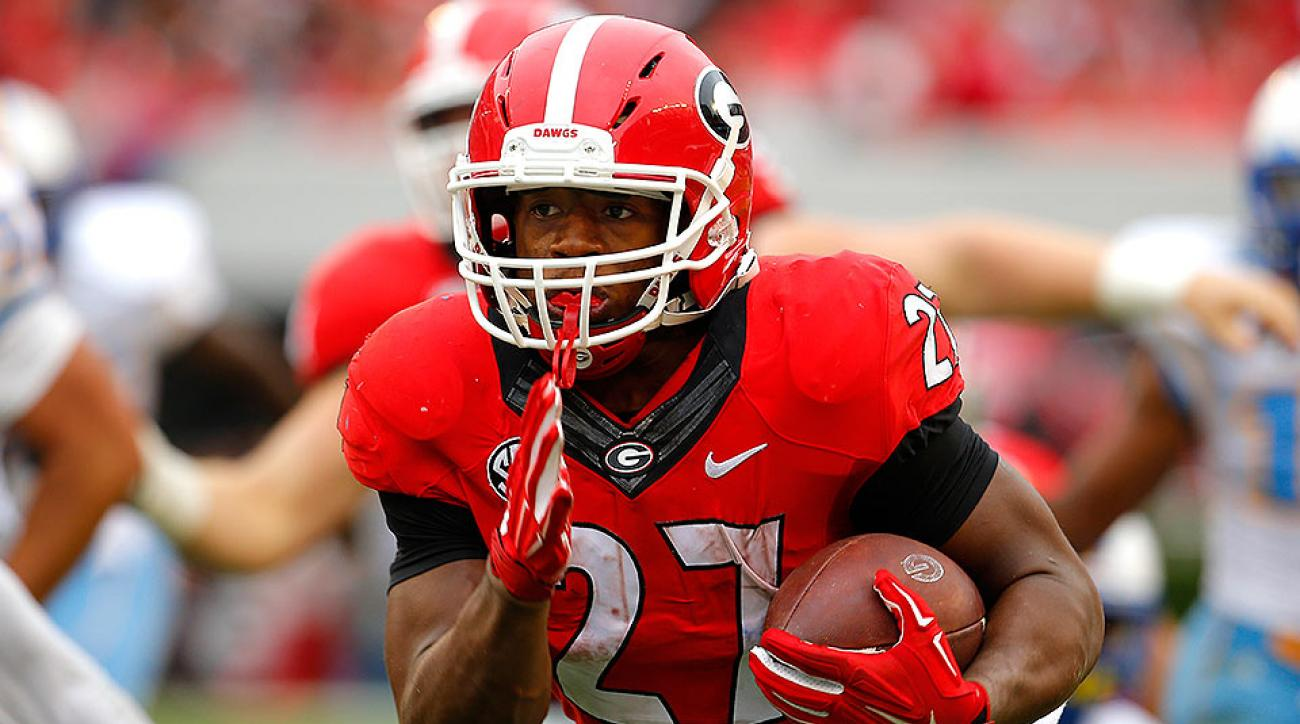 Georgia football Nick Chubb