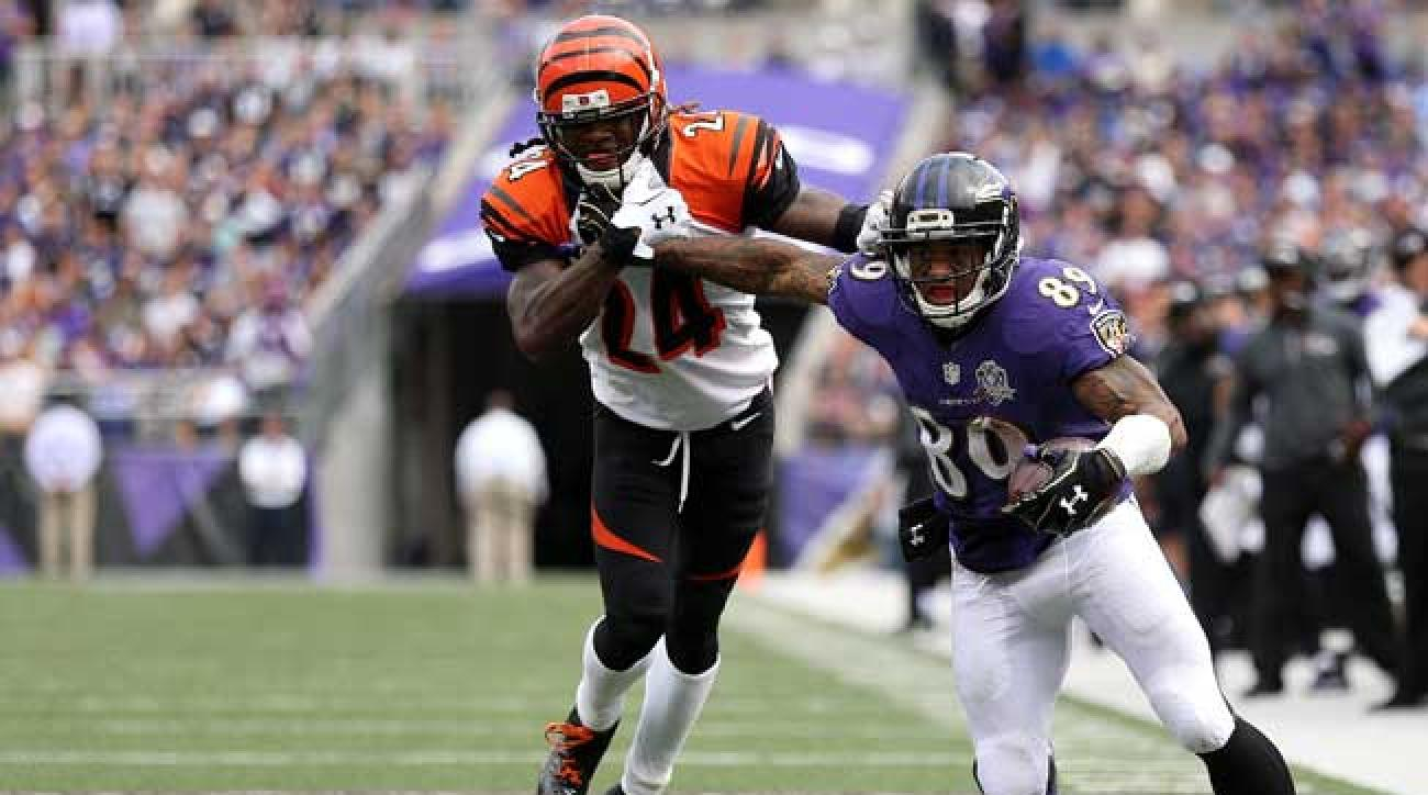 Baltimore Ravens wideout Steve Smith Sr. (Patrick Smith/Getty Images)