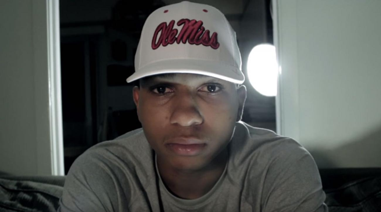 breein tyree ole miss commitment youtube video