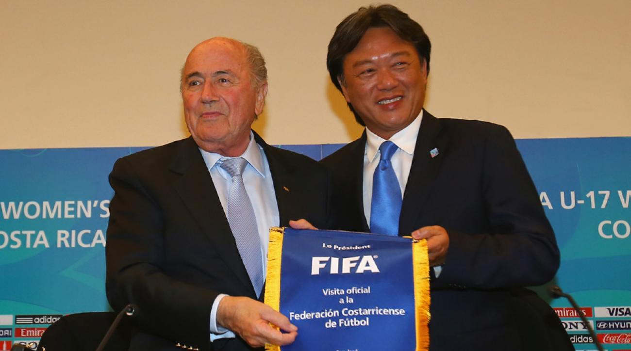 Sepp Blatter, Eduardo Li
