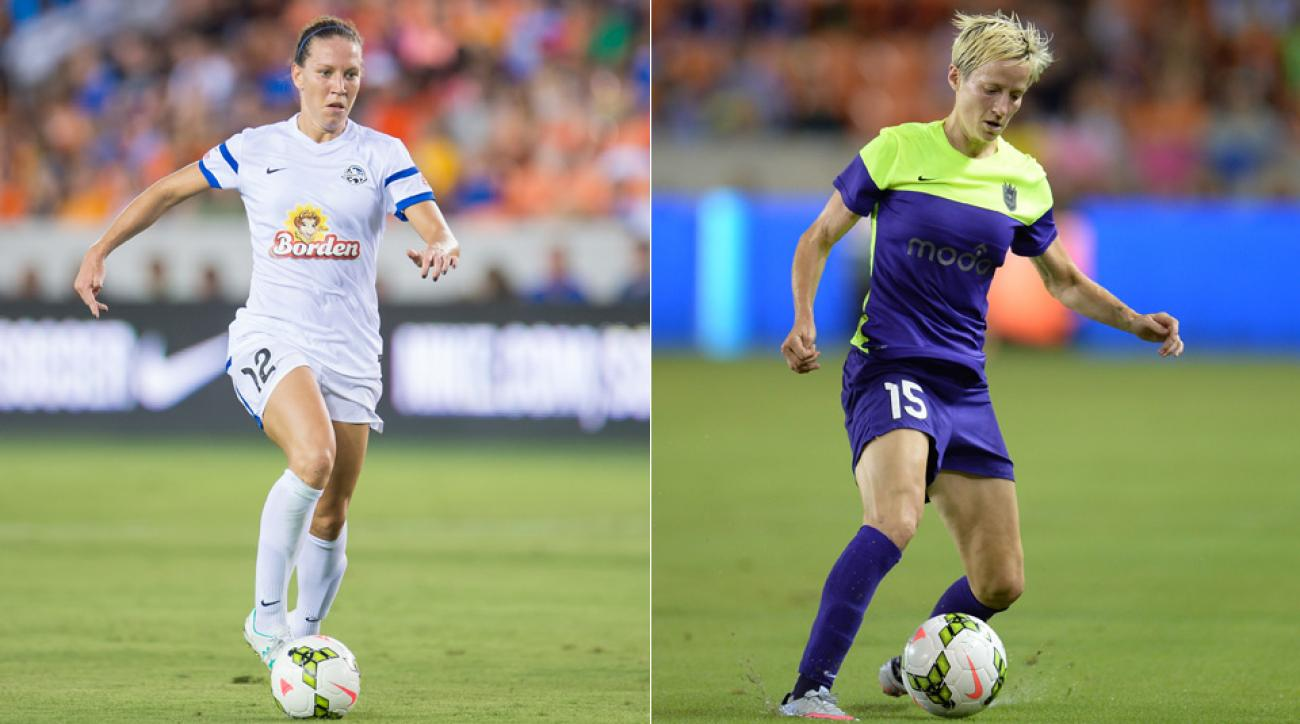 USWNT's Lauren Holiday, Megan Rapinoe will face off in the NWSL final