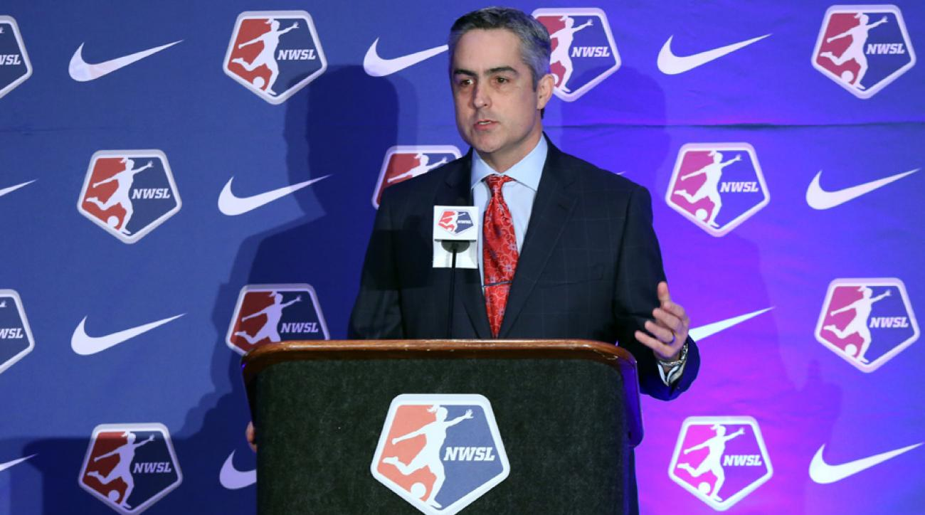 NWSL commissioner Jeff Plush