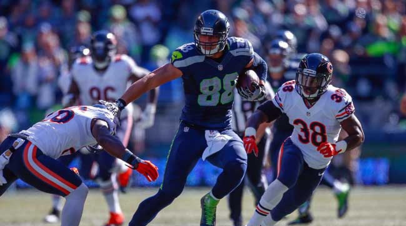 Seattle Seahawks tight end Jimmy Graham. (Photo by Otto Greule Jr./Getty Images)