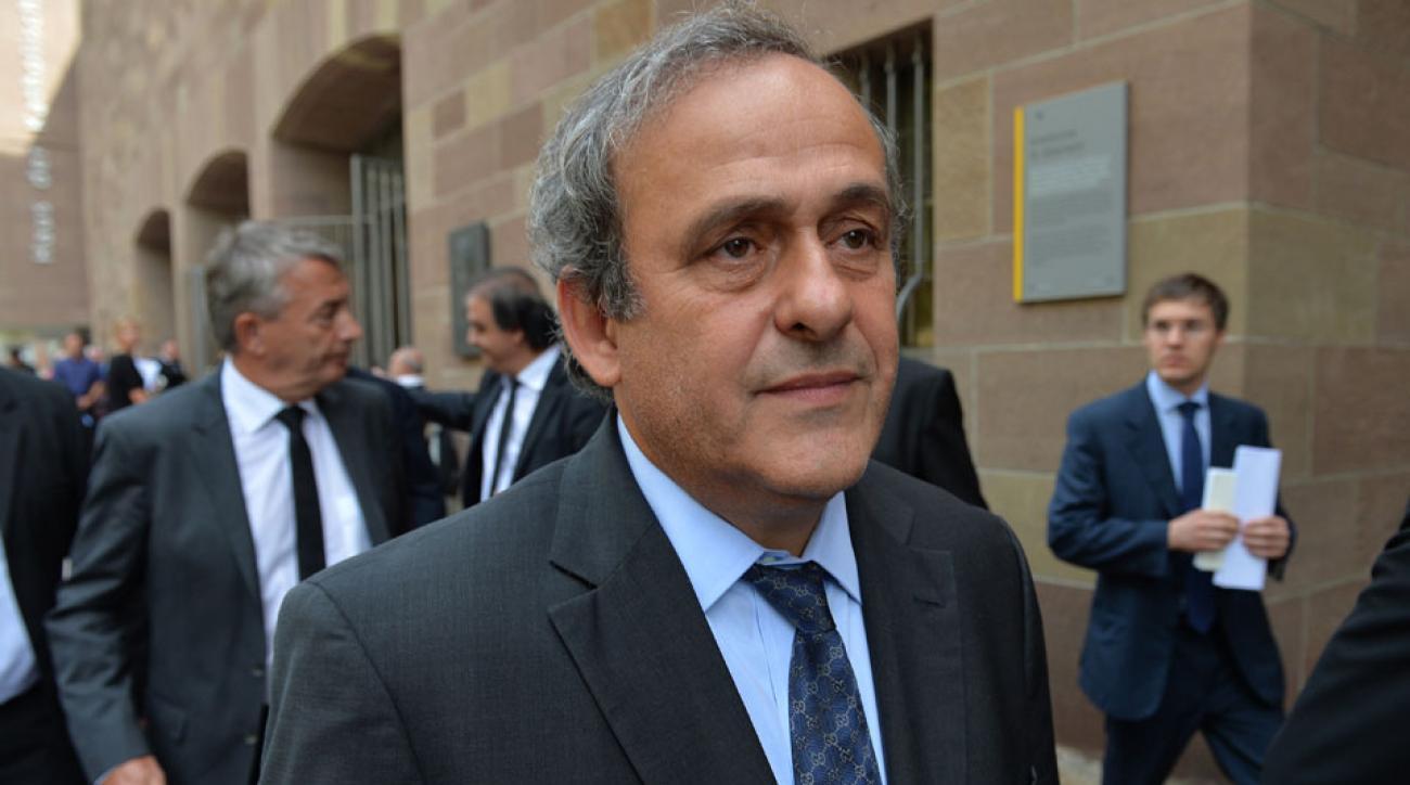 michel platini fifa presidency probe sepp blatter