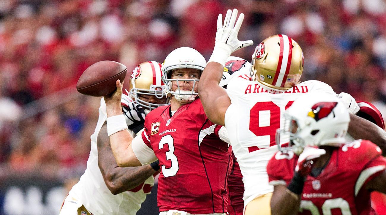 Carson Palmer, Arizona Cardinas, Week 3 vs. the 49ers