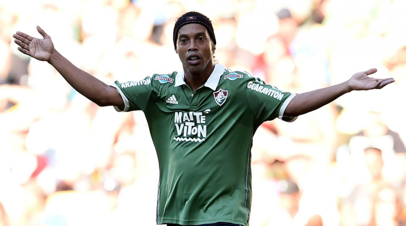 Ronaldinho is leaving Brazilian club Fluminense