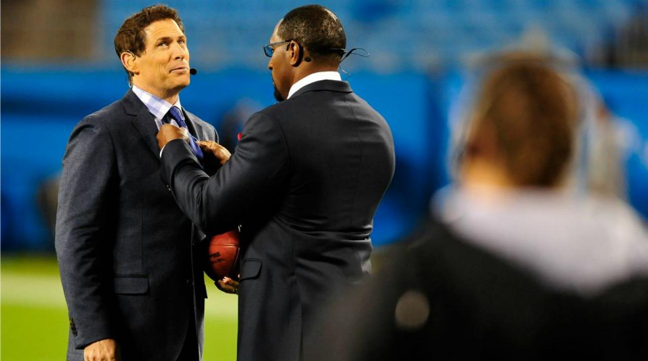 Steve Young did the Ray Lewis Dance for Packers fans