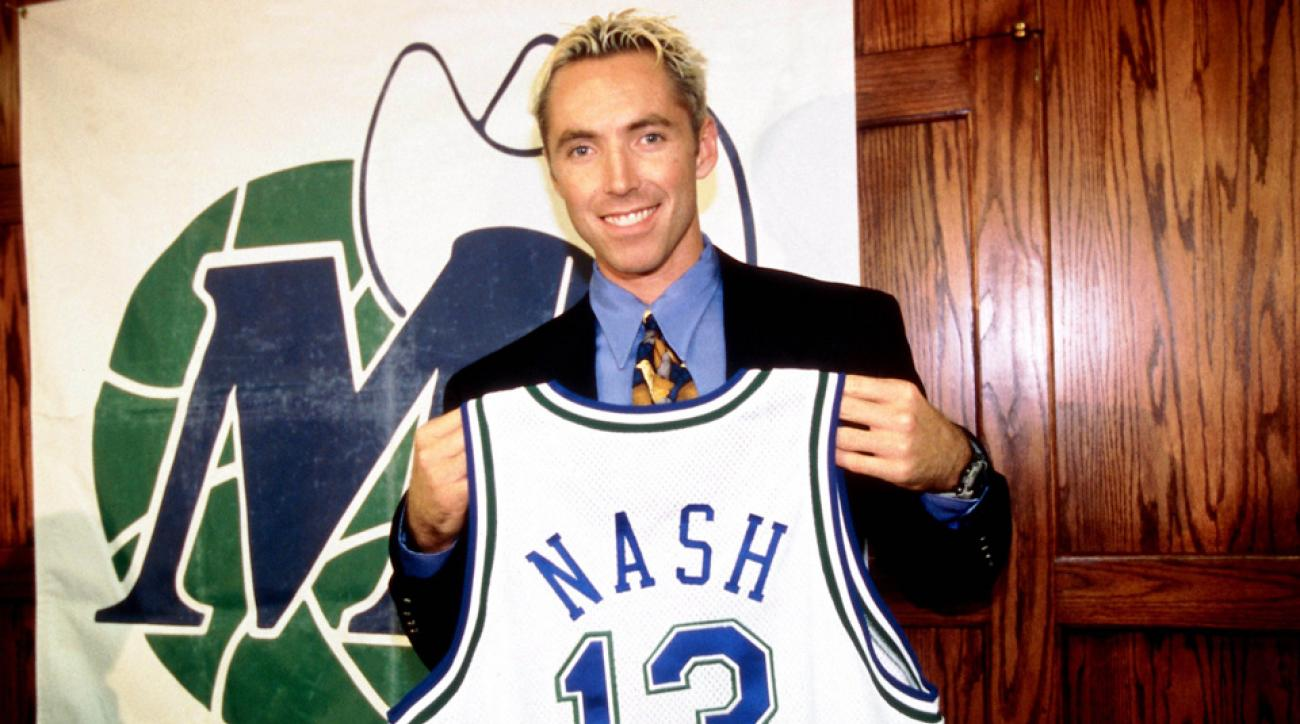 steve nash nba blond players