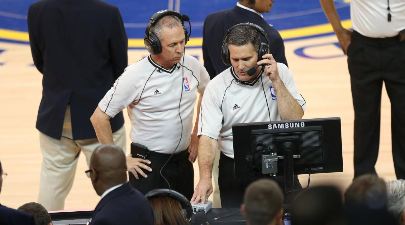 nba referee replay center rule change review
