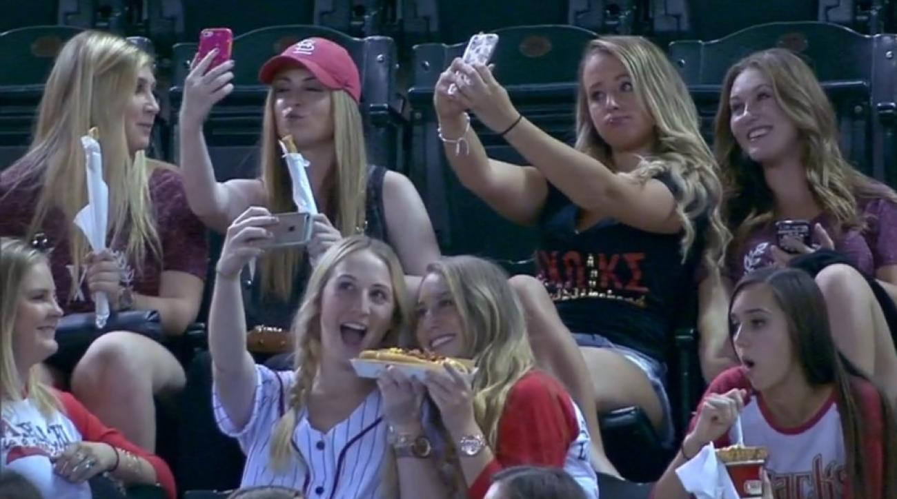 Arizona Diamondbacks game invaded by sorority girls