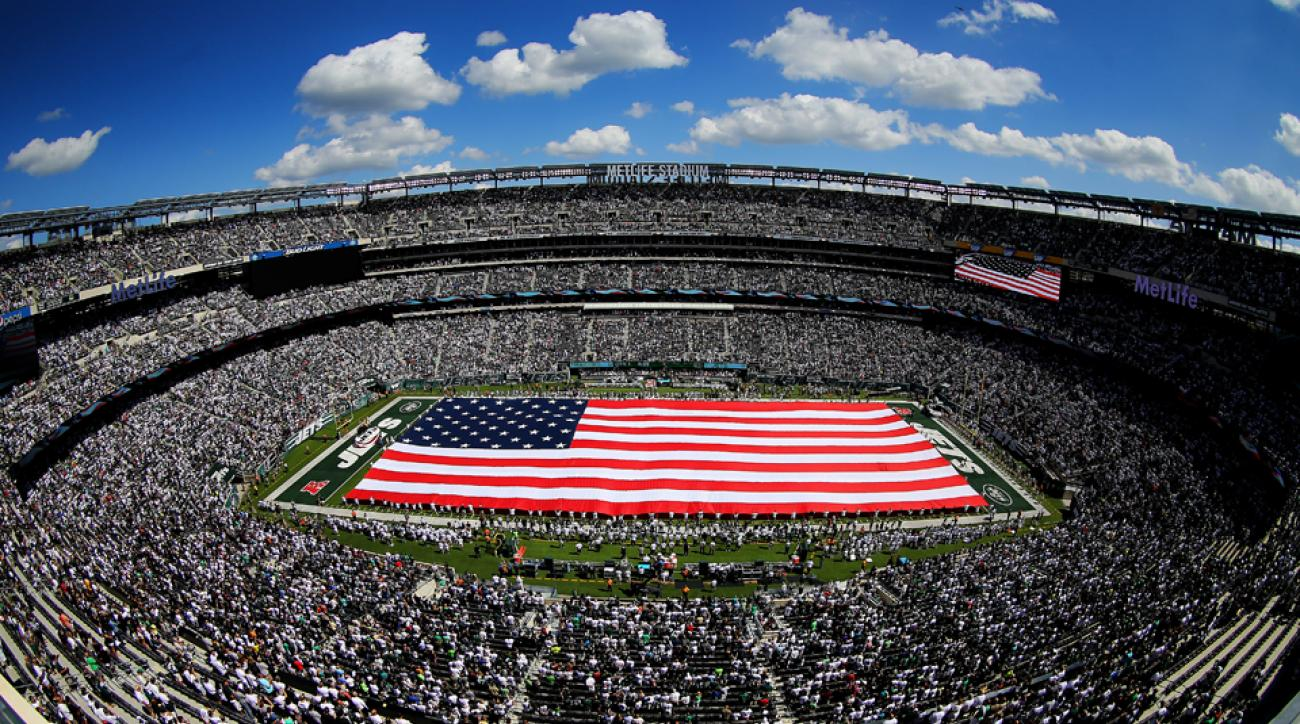 congress ban pay for patriotism sporting events new york jets nfl