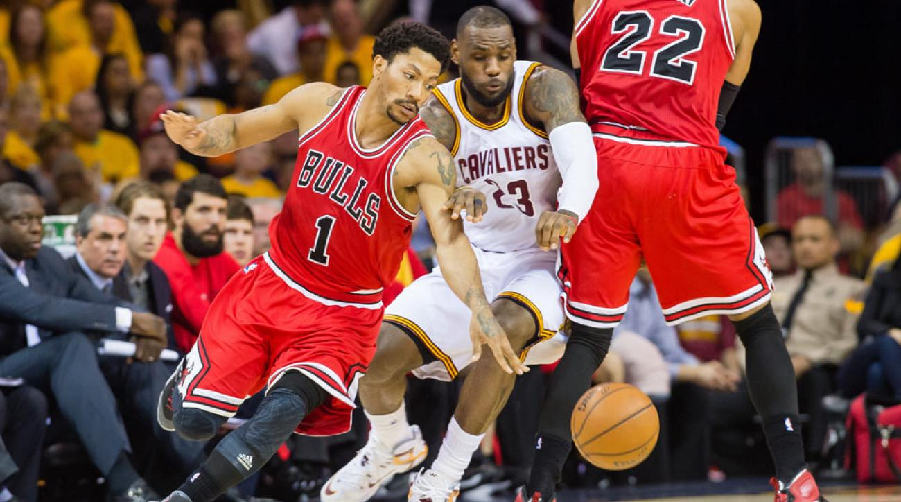 Derrick Rose; LeBron James