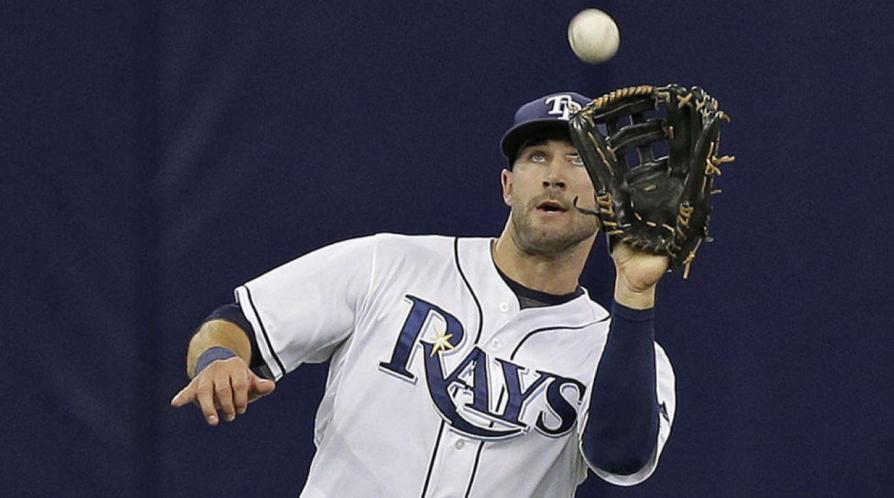 tampa bay rays kevin kiermaier throw 100 mph