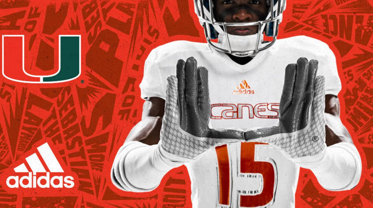 miami football 305 ice uniforms adidas alternates cincinnati