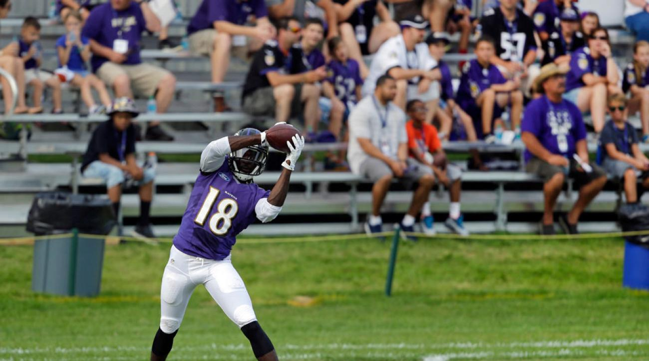 baltimore ravens Breshad Perriman knee injury out