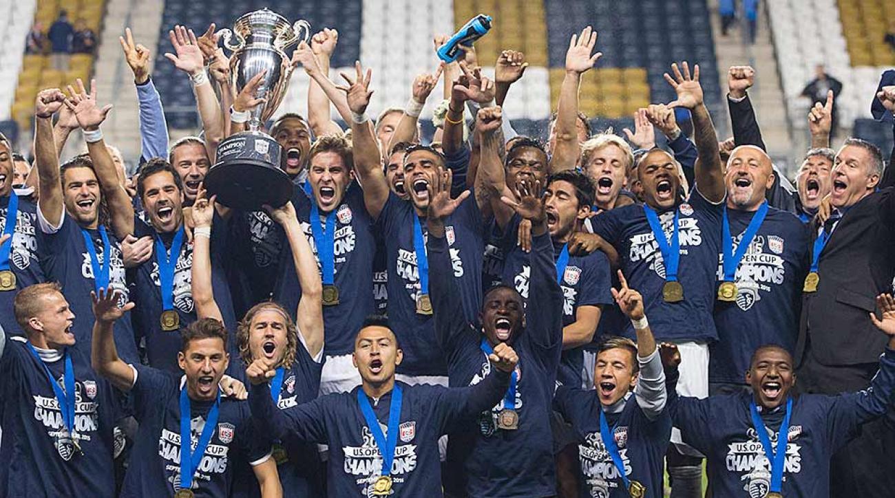 Sporting Kansas City defeats Union U.S. Open Cup
