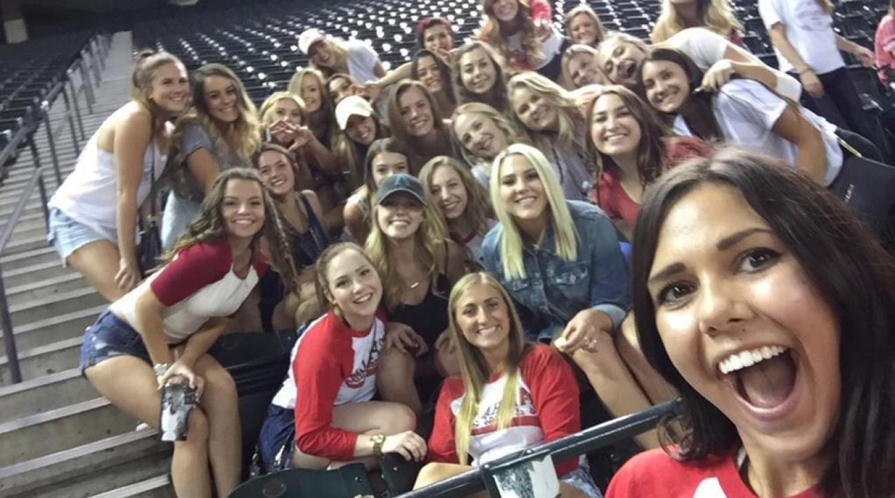 diamondbacks selfie sorority free tickets charity