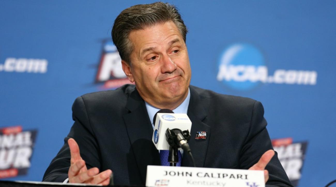 John Calipari jokes that Jordan Spieth's one and done ruined college golf