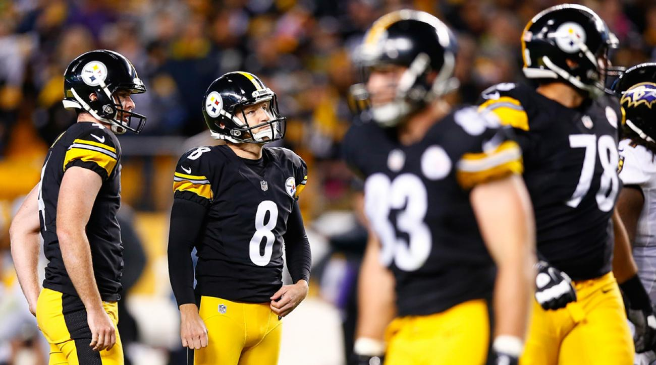pittsburgh steelers kicker josh scobee baltimore ravens