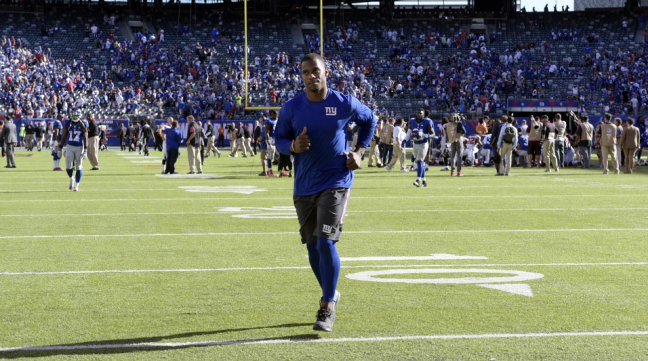 victor cruz calf injury update giants