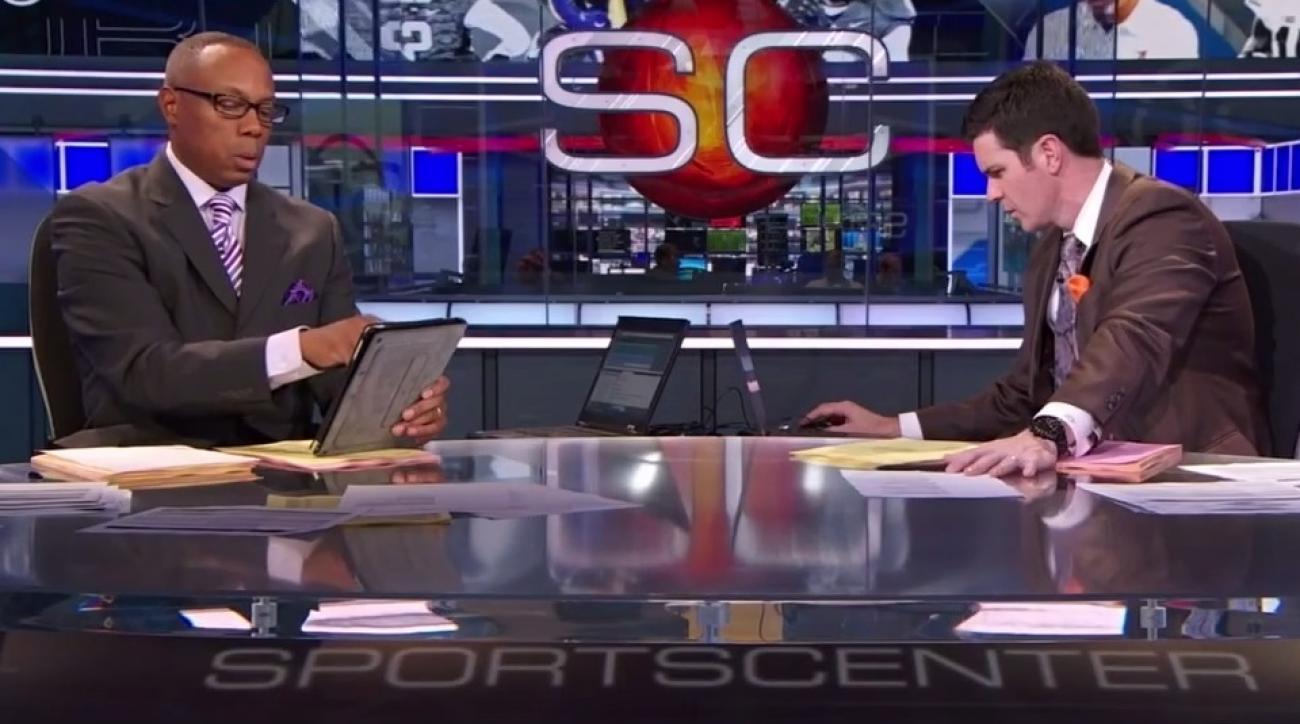 video abc sportscenter anchors dabo swinney clemson