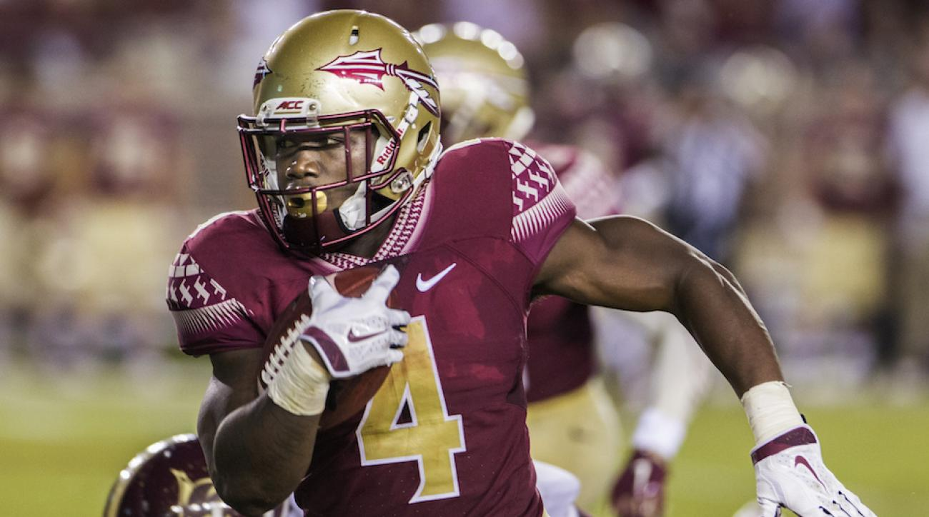 dalvin cook leaves with hamstring injury