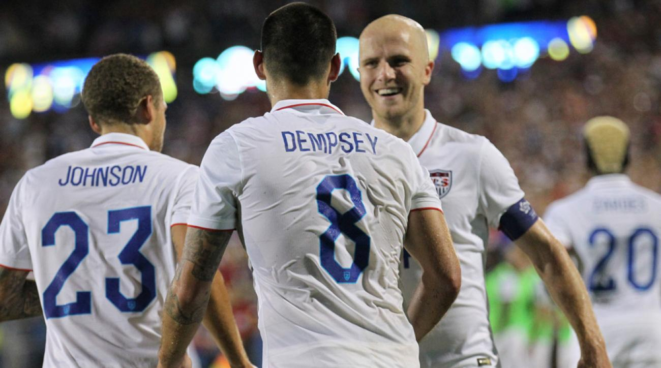 Fabian Johnson, Clint Dempsey, Michael Bradley will lead the USA vs. Mexico in the CONCACAF Cup playoff
