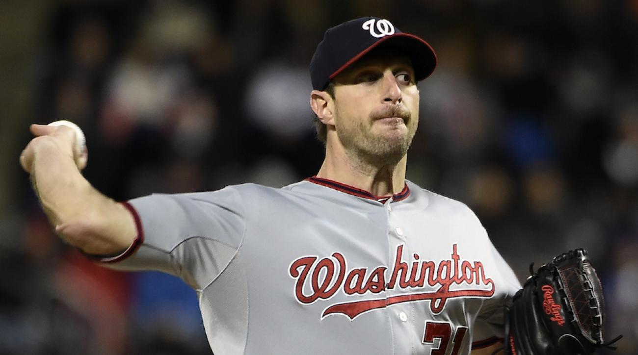 max scherzer washington nationals no hitter mets