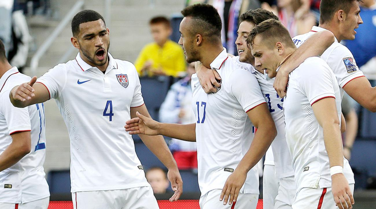 The United States defeated Cuba 6–1 in Olympic qualifying.