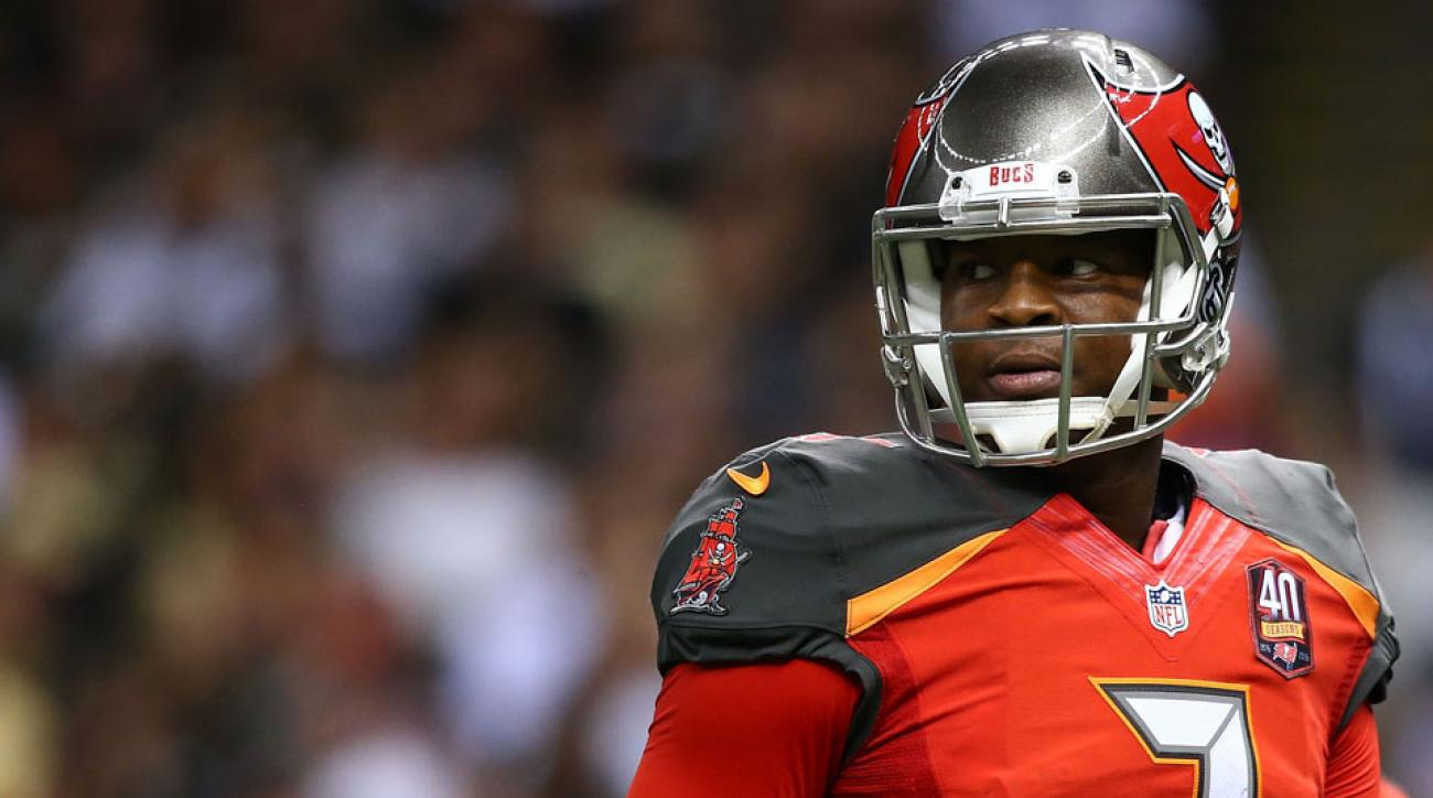 jameis winston interception buccaneers panthers video