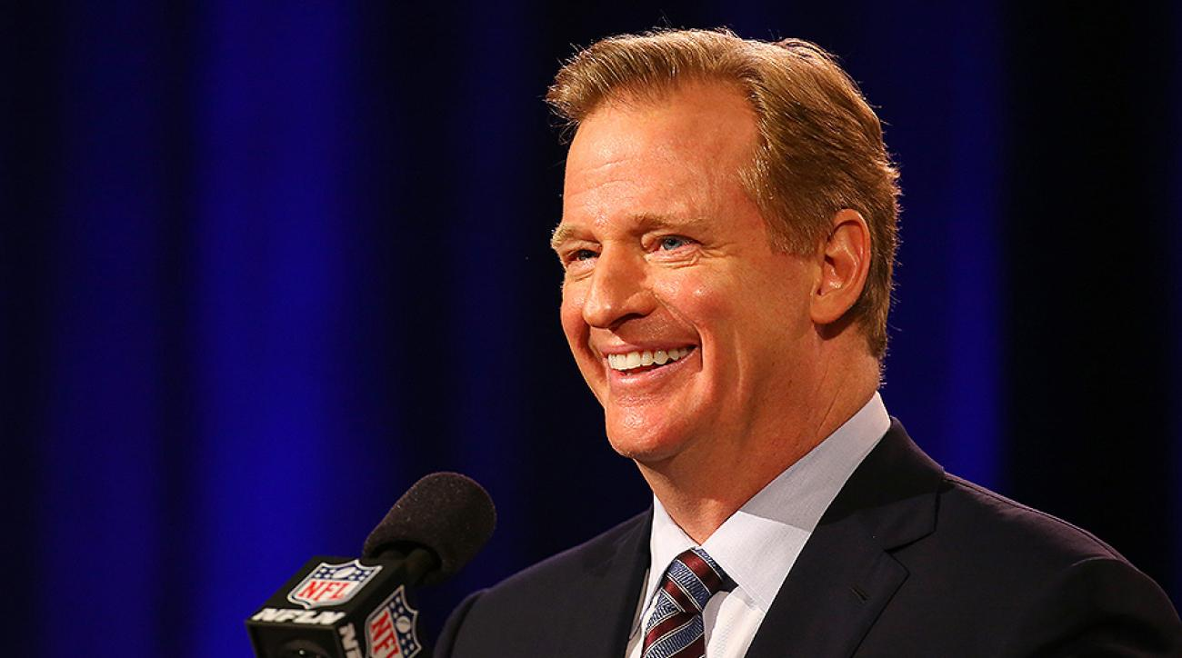 Roger Goodell NFL media