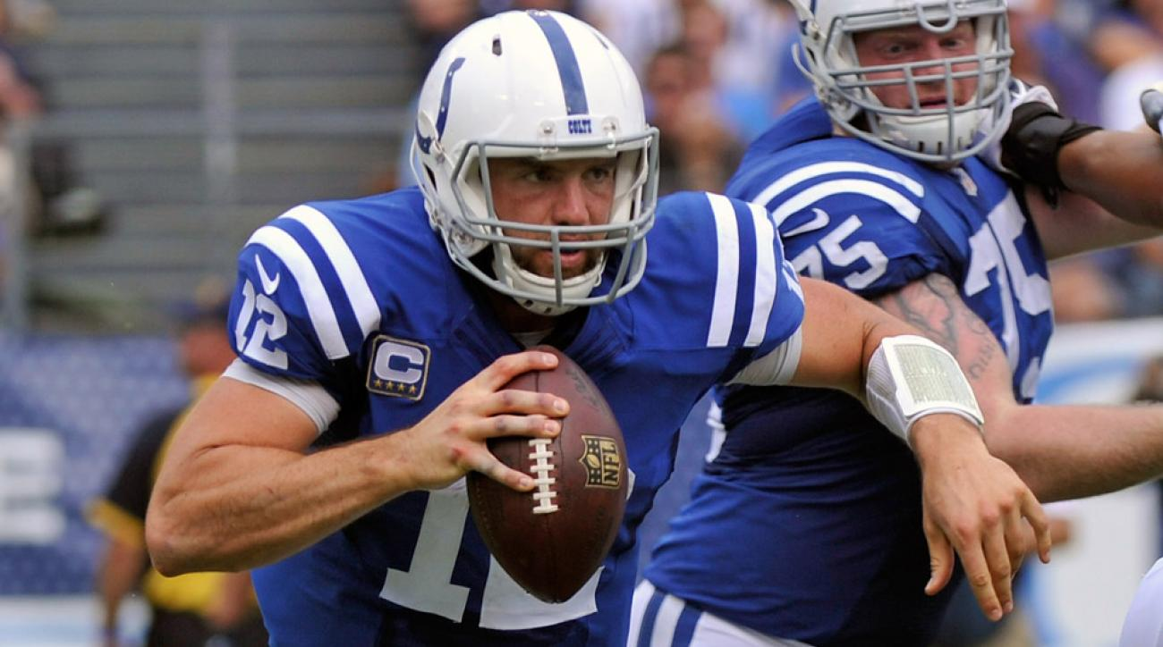 nfl actives inactives week 4 andrew luck arian foster