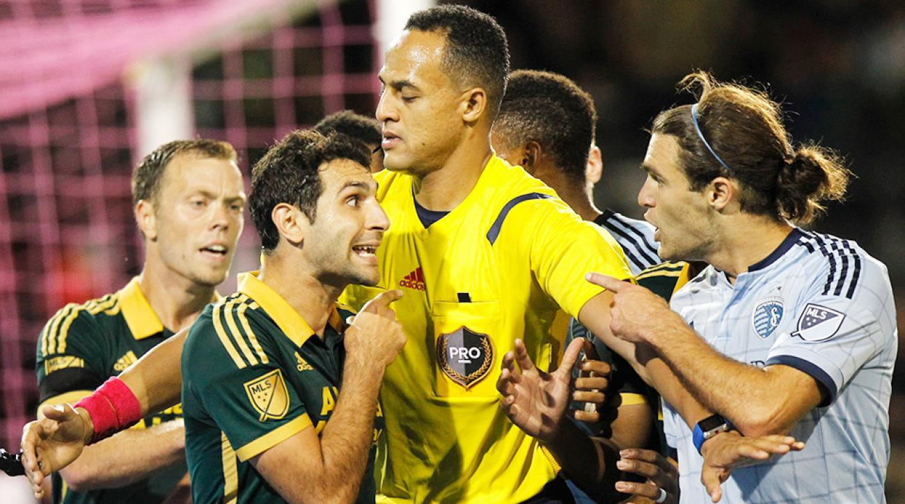 Sporting Kansas City defeated Portland Timbers in MLS action Saturday.