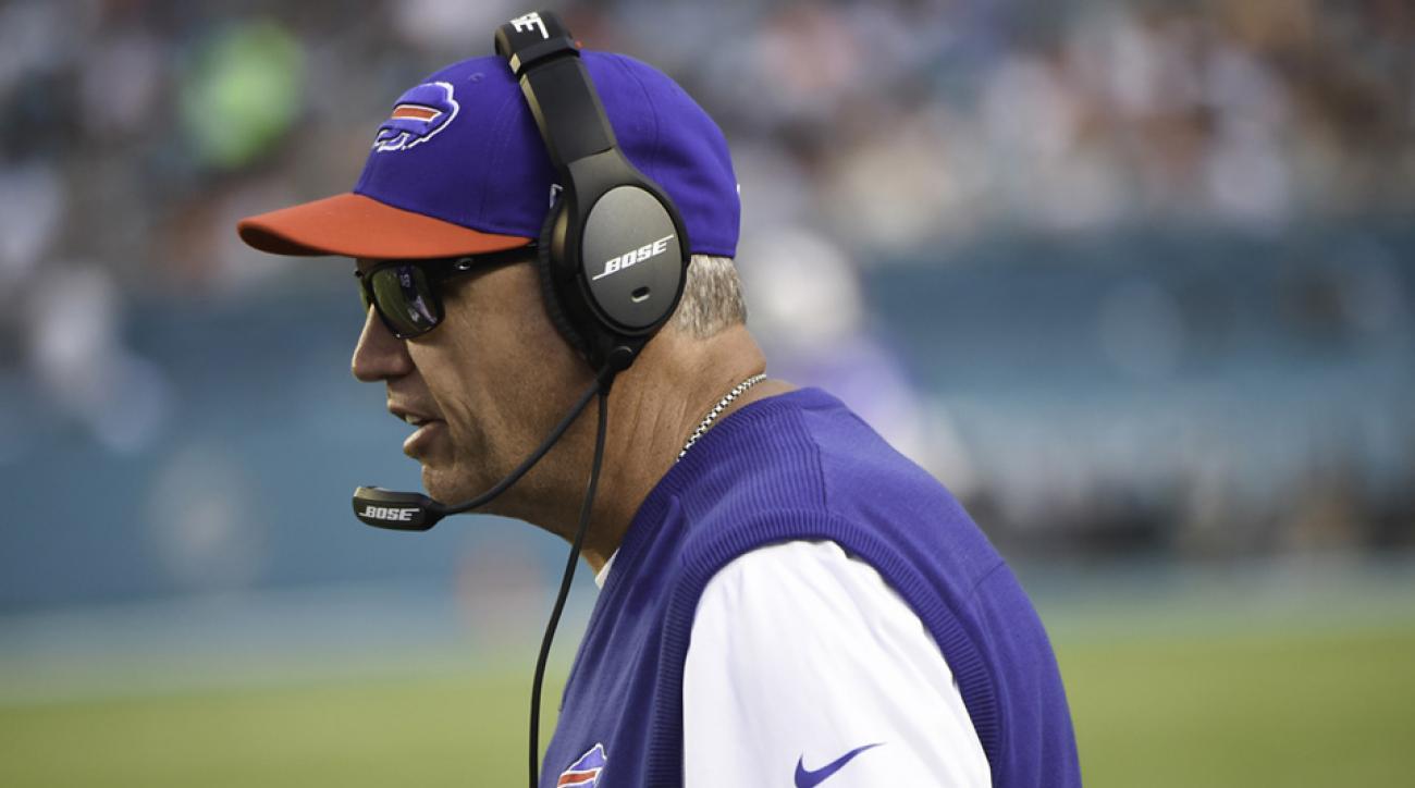 buffalo bills rex ryan defends 17 penalties new york giants