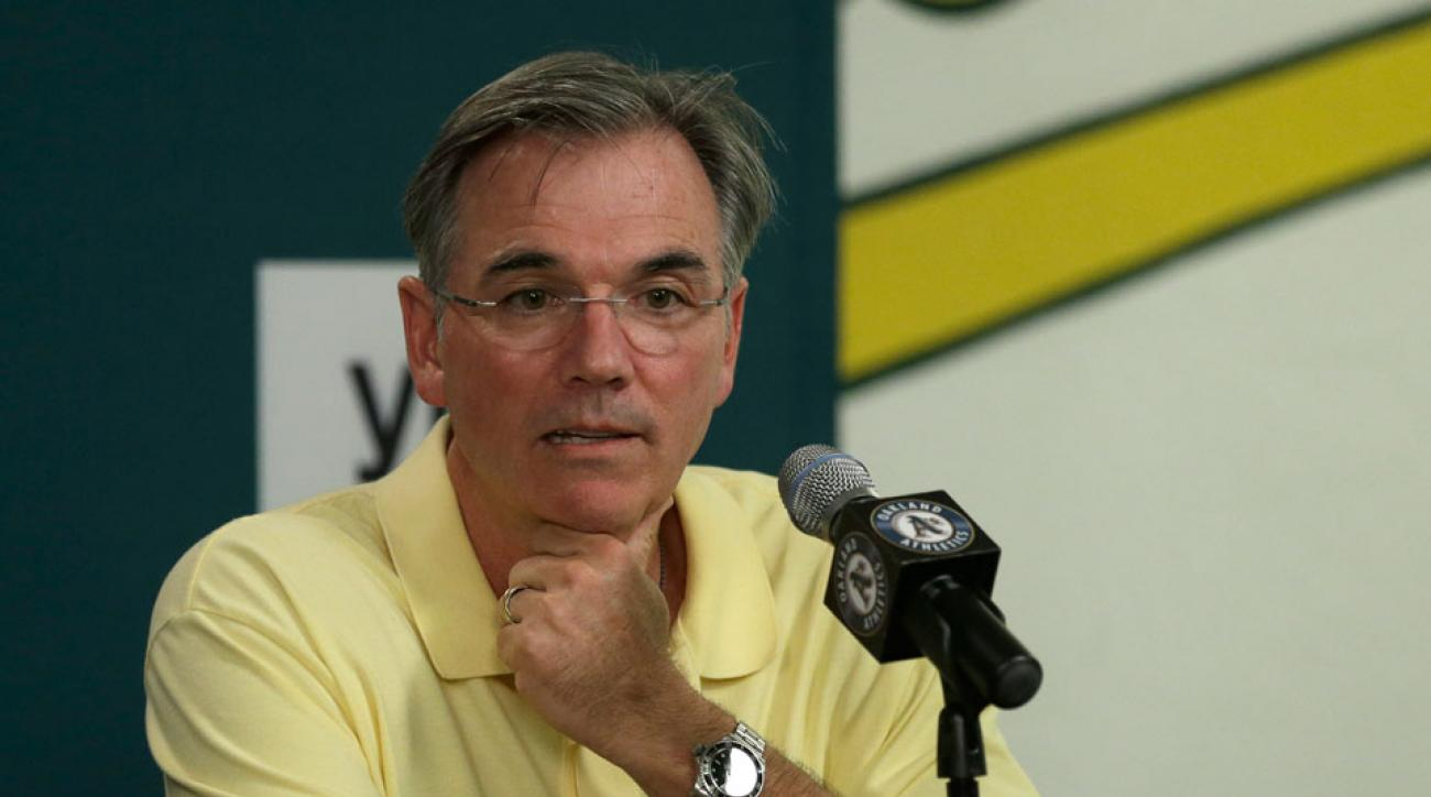 Billy Beane promoted to vp of baseball ops