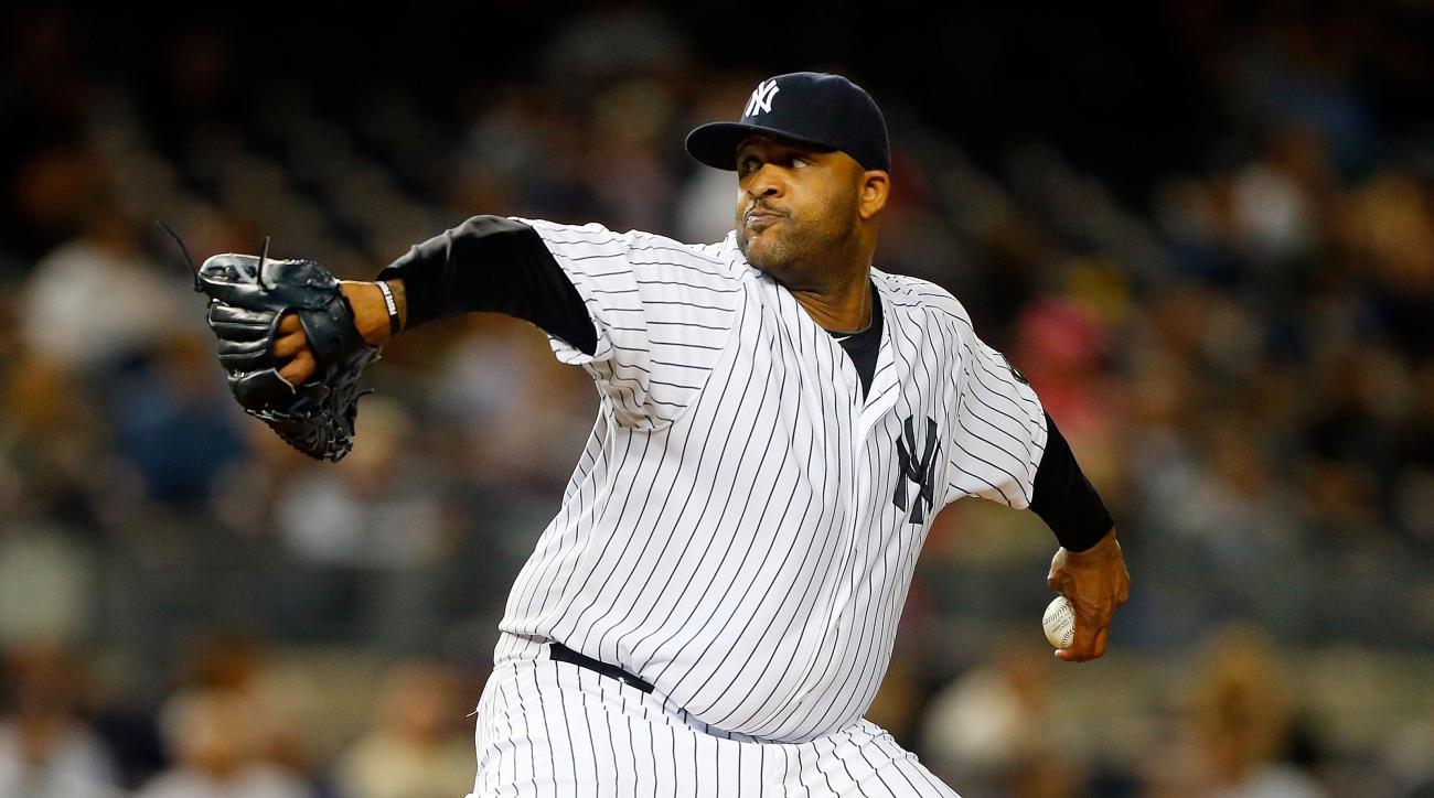 CC Sabathia New York Yankees alcohol rehab off postseason roster
