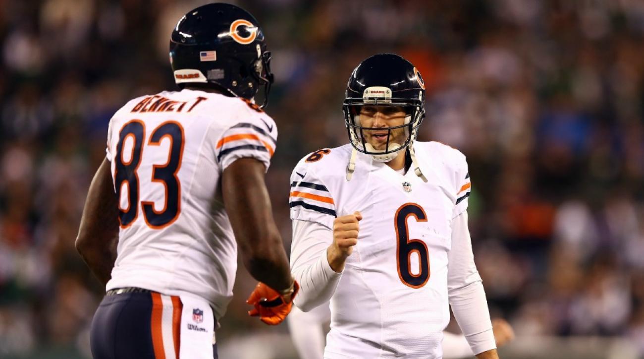 Chicago Bears' Martellus Bennett compares Jay Cutler to Jesus