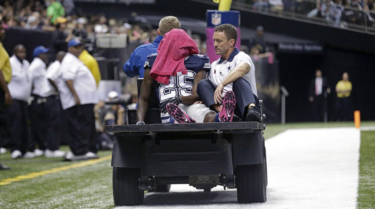 cowboys lance dunbar knee injury update