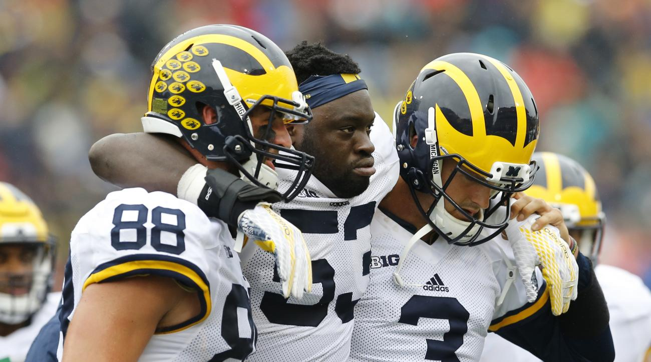 michigan-football-mario-ojemudia-achilles-injury-out-season