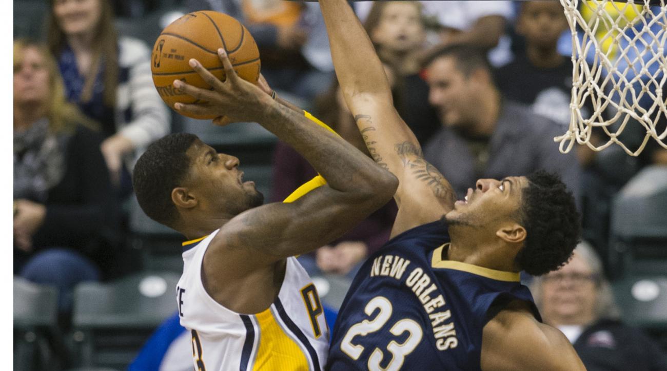 NBA rumors Paul George Indiana Pacers news.